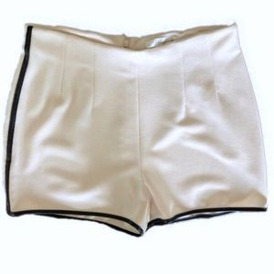 Lover and friend faux leather shorts medium